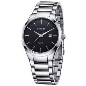 Men's Wrist Watch Classic Steel Band